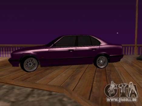 BMW 5-er E34 für GTA San Andreas linke Ansicht