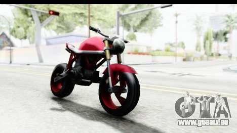 Custom Stunt FCR9000 pour GTA San Andreas
