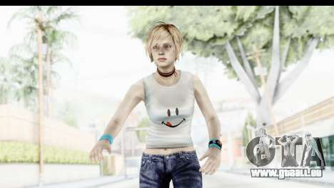 Silent Hill 3 - Heather Sporty White Delicious für GTA San Andreas