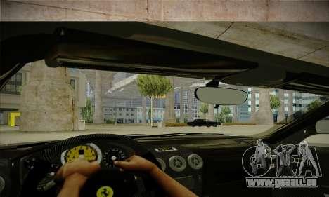 Ferrari F430 Spider für GTA San Andreas Innenansicht