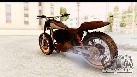 GTA 5 Western Cliffhanger Stock IVF pour GTA San Andreas laissé vue