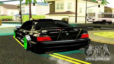 BMW 750 E38 Hamann Turbo Sports für GTA San Andreas linke Ansicht