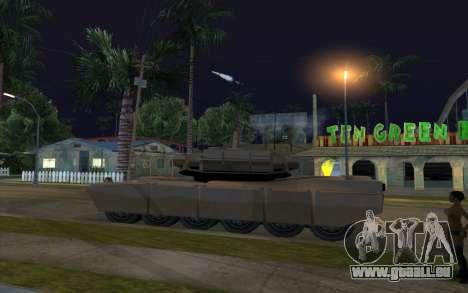 L'effet de la mise à feu de réservoir pour GTA San Andreas deuxième écran