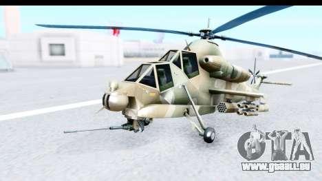 Denel AH-2 Rooivalk für GTA San Andreas