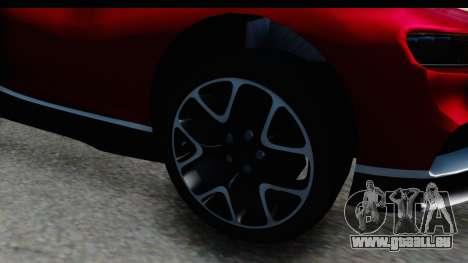 Bugatti Chiron 2017 v2 pour GTA San Andreas vue arrière