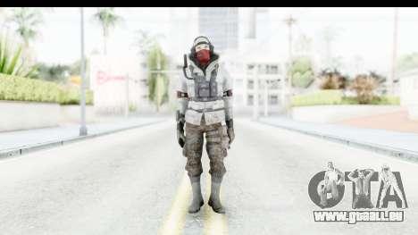 The Division Last Man Battalion - Leader pour GTA San Andreas deuxième écran