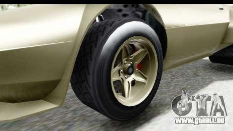 GTA 5 Lampadati Tropos Rallye IVF für GTA San Andreas Rückansicht