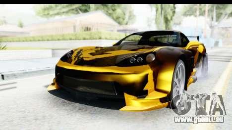 NFS Carbon Chevrolet Corvette pour GTA San Andreas