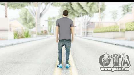 Lionel Messi Casual pour GTA San Andreas troisième écran