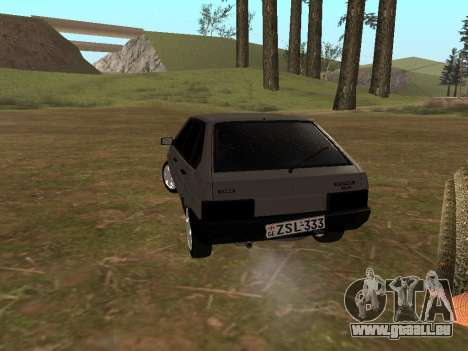 2109 Klassiker für GTA San Andreas linke Ansicht