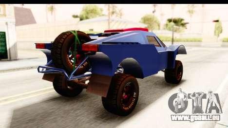 GTA 5 Desert Raid SA Lights pour GTA San Andreas laissé vue