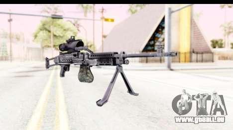 M240 FSK pour GTA San Andreas