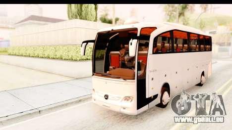 Mercedes-Benz Travego pour GTA San Andreas sur la vue arrière gauche