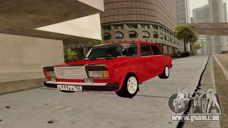 rus_racer ENB v1.0 pour GTA San Andreas troisième écran