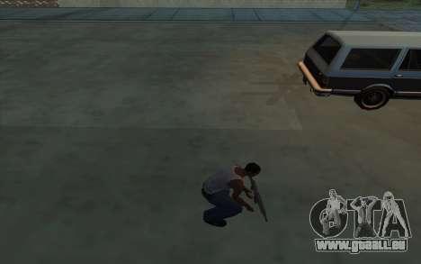 La Possession d'armes pour GTA San Andreas quatrième écran