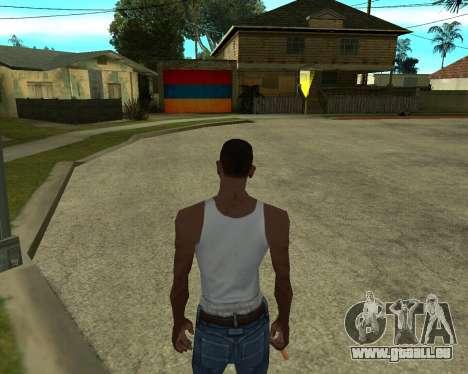 Garage CJ Armenischen für GTA San Andreas her Screenshot