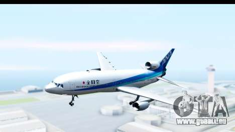 Lockheed L-1011-100 TriStar All Nippon Airways für GTA San Andreas zurück linke Ansicht