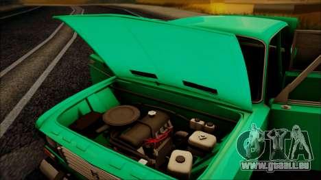 VAZ 2106 Shaherizada GVR pour GTA San Andreas vue arrière