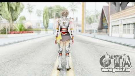 Dynasty Warriors 8 Xtreme Legends Lu Lingqi 2 pour GTA San Andreas troisième écran