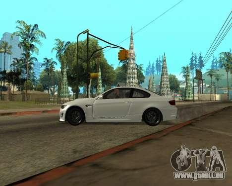 BMW M3 Armenian pour GTA San Andreas vue de côté