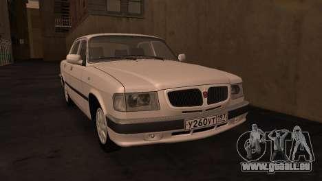 GAZ 3110 à partir de la série de la Zone d'exclu pour GTA San Andreas