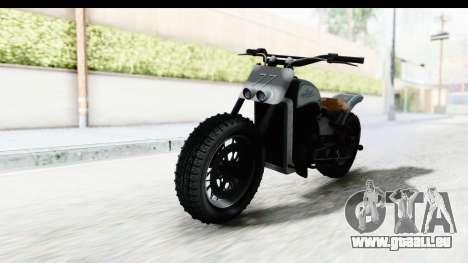 GTA 5 Western Gargoyle Custom v2 pour GTA San Andreas vue de droite