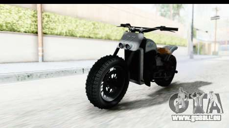GTA 5 Western Gargoyle Custom v2 für GTA San Andreas rechten Ansicht