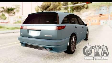 GTA 5 (4) Dinka Perennial IVF für GTA San Andreas zurück linke Ansicht