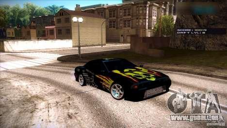 Elegy by LFYZ-T34 0.4v pour GTA San Andreas sur la vue arrière gauche