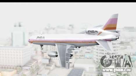 Lockheed L-1011-100 TriStar Pacific Southwest für GTA San Andreas linke Ansicht