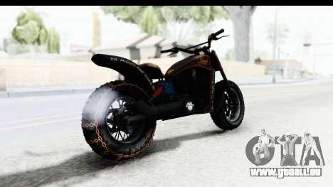 GTA 5 Western Gargoyle Custom v1 IVF für GTA San Andreas linke Ansicht