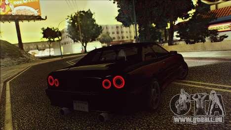 Elegy Drophead für GTA San Andreas Rückansicht