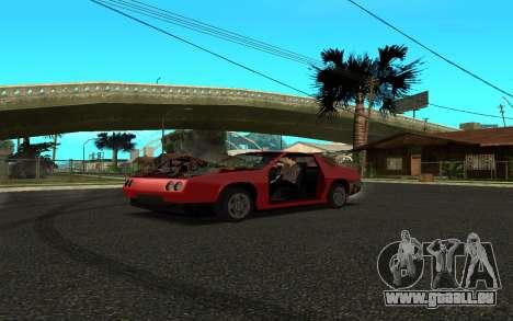 Buffalo (Tunning) pour GTA San Andreas sur la vue arrière gauche