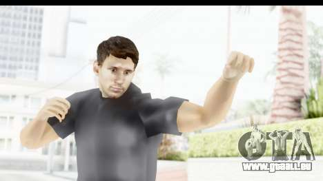 Lionel Messi Casual für GTA San Andreas