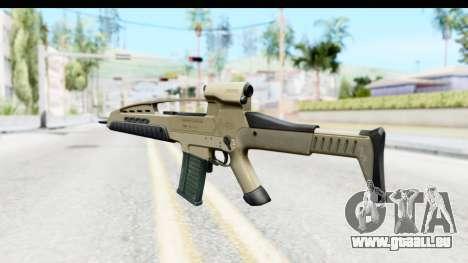 H&K XM8 für GTA San Andreas zweiten Screenshot