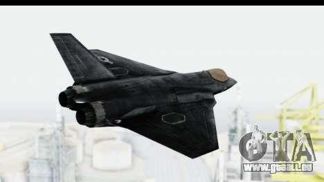 CoD Black Ops 2 - FA-38 für GTA San Andreas rechten Ansicht