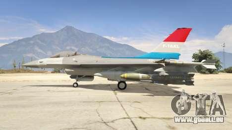 F-16XL USA pour GTA 5