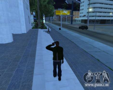 Salut pour GTA San Andreas deuxième écran