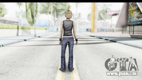 Silent Hill 3 - Heather Sporty Dark Gray Obama für GTA San Andreas dritten Screenshot