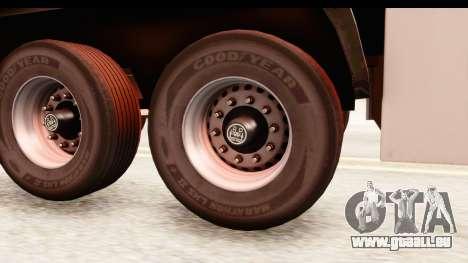 Trailer ETS2 v2 New Skin 2 pour GTA San Andreas vue arrière