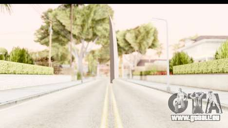 Bleach - Ichigo Weapon pour GTA San Andreas deuxième écran
