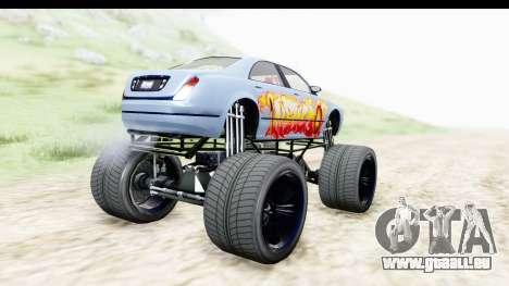 GTA 5 Enus Cognoscenti XL pour GTA San Andreas laissé vue