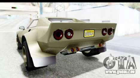 GTA 5 Lampadati Tropos Rallye IVF für GTA San Andreas Unteransicht