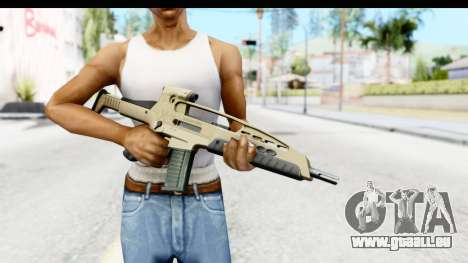 H&K XM8 für GTA San Andreas dritten Screenshot