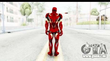 Marvel Heroes - Ironman Mk46 für GTA San Andreas dritten Screenshot