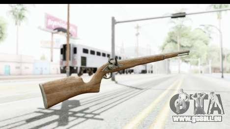 GTA 5 Musket für GTA San Andreas zweiten Screenshot