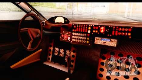 GTA 5 Progen Tyrus SA Style für GTA San Andreas Seitenansicht