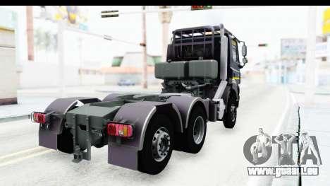 Tatra Phoenix 6x2 Agro Truck v1.0 pour GTA San Andreas laissé vue