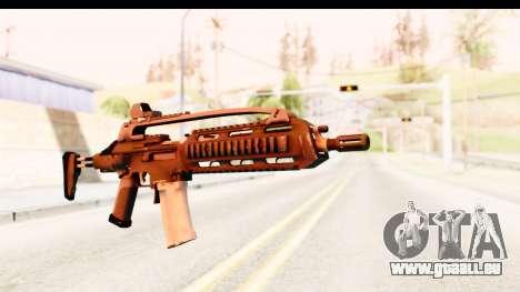SCAR-LK pour GTA San Andreas deuxième écran