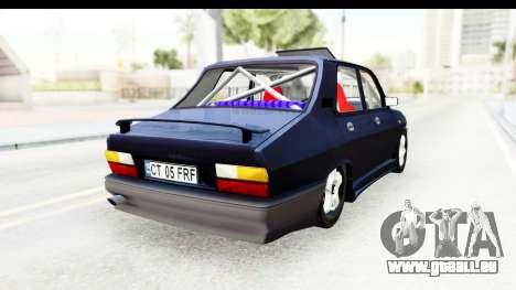 Dacia 1310 Berlina Tunata v2 pour GTA San Andreas sur la vue arrière gauche